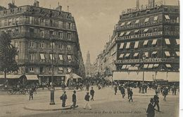 Grand Magasin  Aux Galeries Lafayette  Chaussée Antin Envoi Café De La Rotonde Vers Delhomme Hotel Foecy Cher - Shops