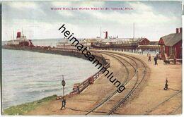 Michigan - St. Ignace - Rail - Water - Etats-Unis
