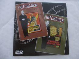 ALFRED HITCHCOCK : DVD 2 FILMS : LES 39 MARCHES - L'HOMME QUI EN SAVAIT TROP - Polizieschi