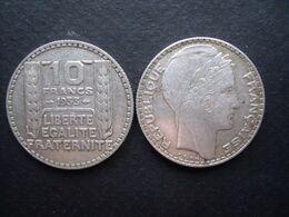 FRANCE = UNE PIECE  DE 10 FRANCS  DE  1933 EN ARGENT - Frankrijk