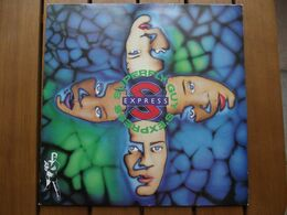 S'Express – Superfly Guy - 1988 - 45 Rpm - Maxi-Single