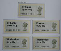 ATM P&G SELF-ADHESIVE (Mi 2) 2008 POSTFRIS MNH ** ENGLAND GRANDE-BRETAGNE GB GREAT BRITAIN - Neufs