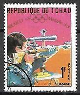 TCHAD      -      TIR  A  LA  CARABINE       -    Oblitéré - Shooting (Weapons)