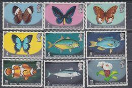 Salomon N° 213 / 27 XX Série Courante : Effigie D'Elisabeth II Et Sujets Divers : Les 15 Valeurs Sans Charnière, TB - British Solomon Islands (...-1978)