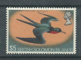 Salomon N° 234 XX Série Courante : Effigie D'Elisabeth II Et Oiseau Sans Charnière, TB - British Solomon Islands (...-1978)