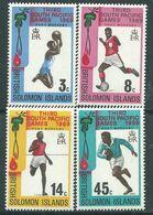 Salomon N° 179 / 82 XX  3è Jeux Sportifs Du Pacifique Sud, Les 4 Valeurs Sans Charnière, TB - British Solomon Islands (...-1978)