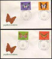 Ivory Coast 1978 / Butterflies / Mi 558-561 / FDC - Costa D'Avorio (1960-...)
