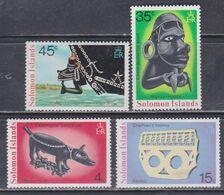 Salomon N° 293 / 96 XX  Artisanat : Les 4 Valeurs Sans Charnière, TB - British Solomon Islands (...-1978)