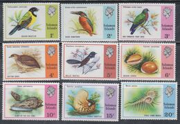 Salomon N° 297 / 311 XX  Série Courante : Sujets Divers : Les 15 Valeurs Sans Charnière, TB - British Solomon Islands (...-1978)