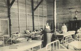 Nederland, UDEN, Vluchtoord Ziekenhuis Vrouwenzaal (1910s) Ansichtkaart - Uden