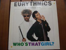 Eurythmics – Who's That Girl? - 1983 - 45 Rpm - Maxi-Single