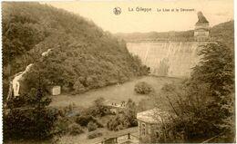 Gileppe (barrage - Stuwdam). Le Lion Et Le Déversoir. De Leeuw En Het Spuigat. - Gileppe (Barrage)