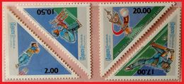 114. SRI LANKA 1996 SET/4 STAMP CRICKET WORLD CHAMPIONS , SRILANKA . MNH - Sri Lanka (Ceylon) (1948-...)