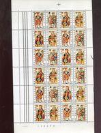 Belgie 1973 F1695/98 Playing Cards Toys Vel Plaatnummer 1 - Full Sheets
