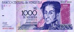 Venezuela 1000 Bolivares 1998 Pick 79 UNC - Venezuela