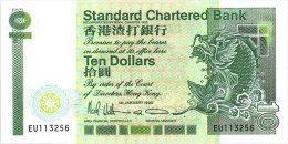 Hong Kong 10 Dollars 1990 Pick 278 UNC - Hongkong