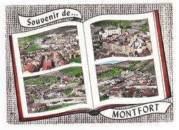 83 MONTFORT Vers Brignoles En 4 Vues Sur Livre Ou Album En 1965 - Brignoles