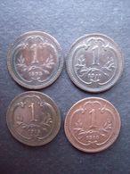 AUTRICHE = 4 PIECES  DE 1 HELLER DE 1895 -1910 -1915-1916- - Oostenrijk