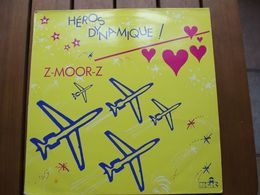 Z-Moor-Z – Héros Dynamique! - 1986 - New Beat - 45 Rpm - Maxi-Single