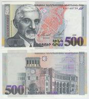 Armenia 500 Dram 1999  Pick 44 UNC - Armenia