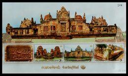 114. THAILAND 2011 STAMP M/S HERITAGE CONSERVATION . MNH - Tailandia