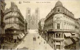 BRUXELLES - Rue Sainte Gudule - Oblitération De 1913 - Nels,  Série Bruxelles N° 33 - Lanen, Boulevards
