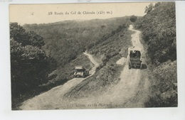 AX LES THERMES - Route Du Col De Chioula (automobiles ) - Ax Les Thermes
