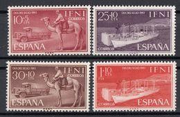 Spagna IFNI 1961 Sc. B55/B58 Giornata Francobollo Camello Camion Nuov Full Set - Ifni