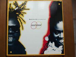 Soul II Soul – Back To Life (Club Mix) - 1989 - 45 Rpm - Maxi-Single