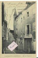 St GENGOUX Le NATIONAL Rue Du Commerce ( Pionnière) - Sonstige Gemeinden