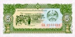 Laos 5 Kip (1979) Pick 26 UNC - Laos