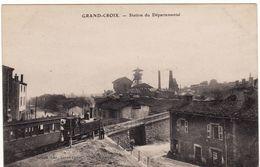 42 GRAND-CROIX **Station Du Départemental** - Frankreich