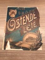 Gedeelte Boekje Guide Ostende L'Eté - Oostende * Casino Kursaal - Leopold II - Eerste Station - Oostende