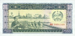 Laos 100 Kip (1979) Pick 30 UNC - Laos