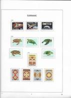 1982 MNH Suriname, Year Collection Accroding To DAVO Album (5 Scans) - Suriname
