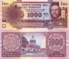 Paraguay 1000 Guaranies 2005 Pick 222 UNC - Paraguay