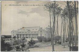 17 Charente Maritime, CHATELAILLON PLAGE, Le Casino Et Le Bois De Pins, Scan Recto Verso - Châtelaillon-Plage