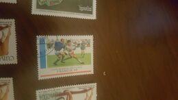 CUBA MONDIALI CALCIO FRANCIA 98 1 VALORE - Stamps