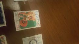 CUBA SPORT SOLLEVAMENTO PESI 1 VALORE - Stamps