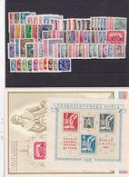 (K 6464) Tschechoslowakei, Kpl. Jahrgang 1945** - Czechoslovakia