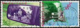 CEPT / Europa 1988 Pays Bas N° 1313 Et 1314 Obl. Transports Et Télécommunications - 1988