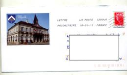 Pap  Beaujard Flamme Chiffrée Illustré Mairie Illfurth - Biglietto Postale