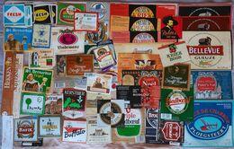 Label Brewery Belgium Lot 001 - Beer