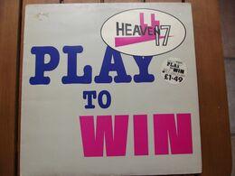 Heaven 17 – Play To Win - 1981 - 45 Rpm - Maxi-Single