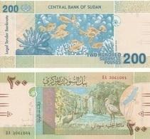 Sudan North - 200 Pounds 2019 UNC Lemberg-Zp - Sudan