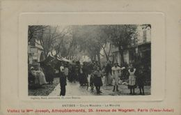 06 - ANTIBES - Cours Masséna - Le Marché - Antibes - Altstadt