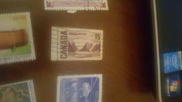 CANADA PAESAGGI BORDO FOGLIO 1 VALORE - Stamps