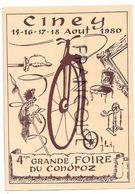4ème Grande Foire Du Condroz, Ciney, 1980 - Collector Fairs & Bourses