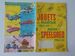 1964 Catalogue Jouets Jeux Barbie Peynet Dinky Toys Fleischmann Jouef Marklin Corgi Toys Cox ... - Antikspielzeug