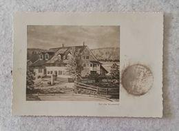 Cartolina Illustrata Per Via Aerea Zurigo - Der Alte Brunnenhof, Per Teheran 1950 - ZH Zurich